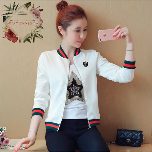 2019 Fashion Women Basic Jackets Coat