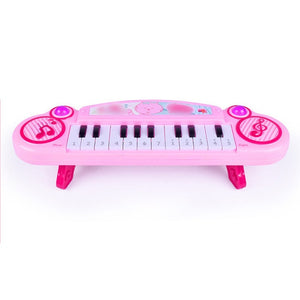Latest Mini 12 Keys Electric Keyboard Piano Kids Musical Toy Batteries Operated!