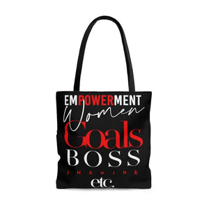 Empower Women Goals Boss Tote - Deerora