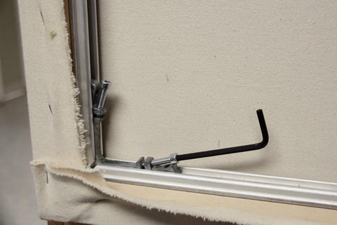 Aluminum Stretcher Frame - Corner Adjustment
