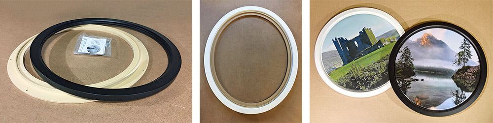 Impress Framed Round or Oval Stretchers
