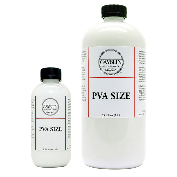 Gamblin PVA Sizing
