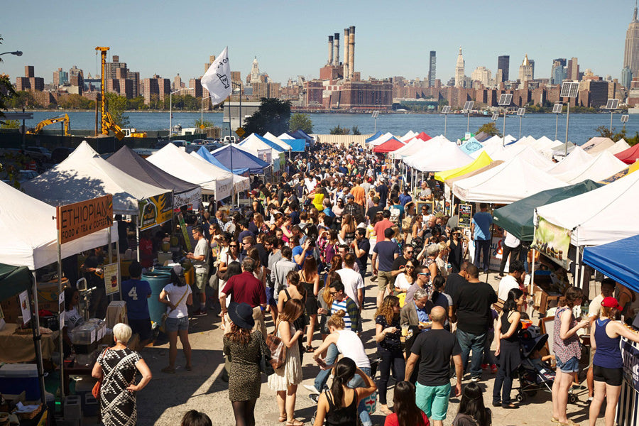 Smorgasburg in Brooklyn