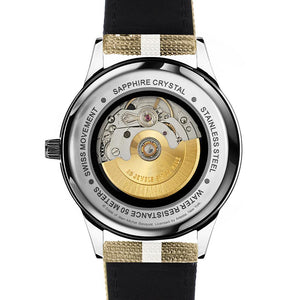 DAEM x Basquiat Skull watch - back