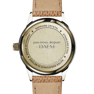 DAEM x Basquiat Warrior watch - black