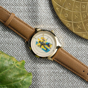 DAEM x Basquiat Warrior watch - overhead