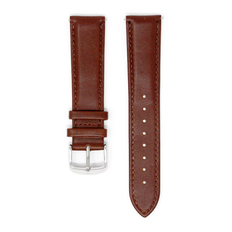 DAEM Italian brown leather strap with detachable mechanism