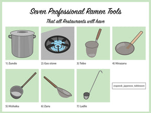 7 Professional Ramen Tools You've Probably Never Heard Of