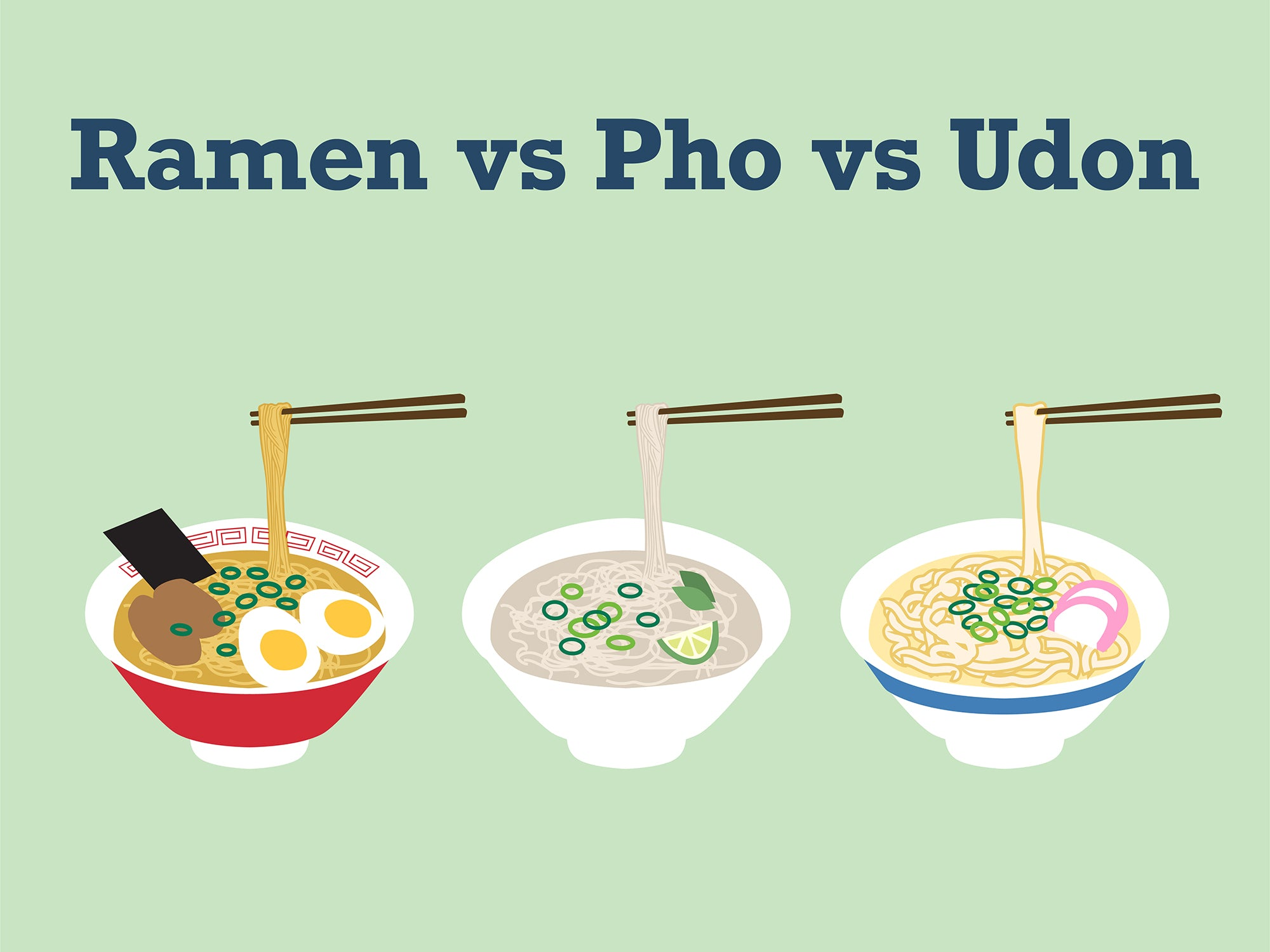 Answered: All Your Favorite Classic Asian Noodles Explained