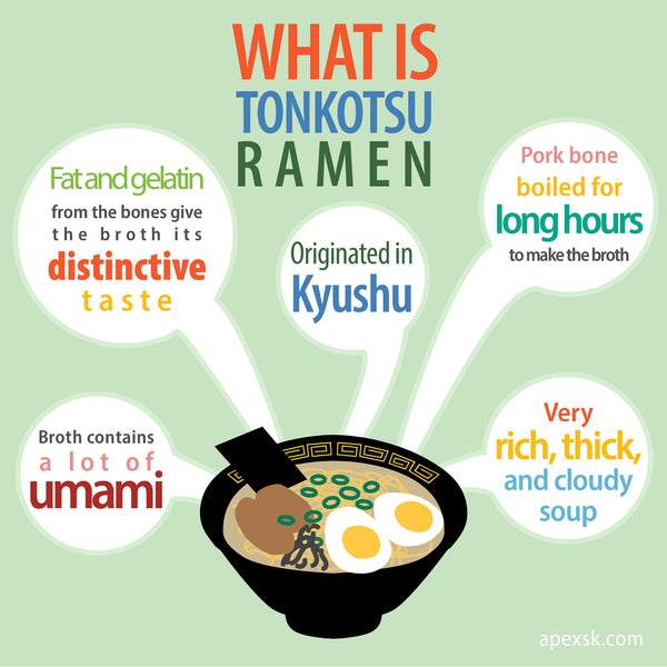 what is tonkotsu ramen