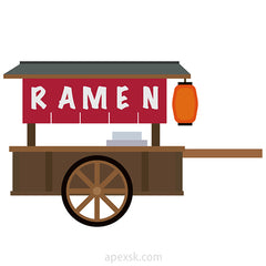 yatai ramen stall food cart