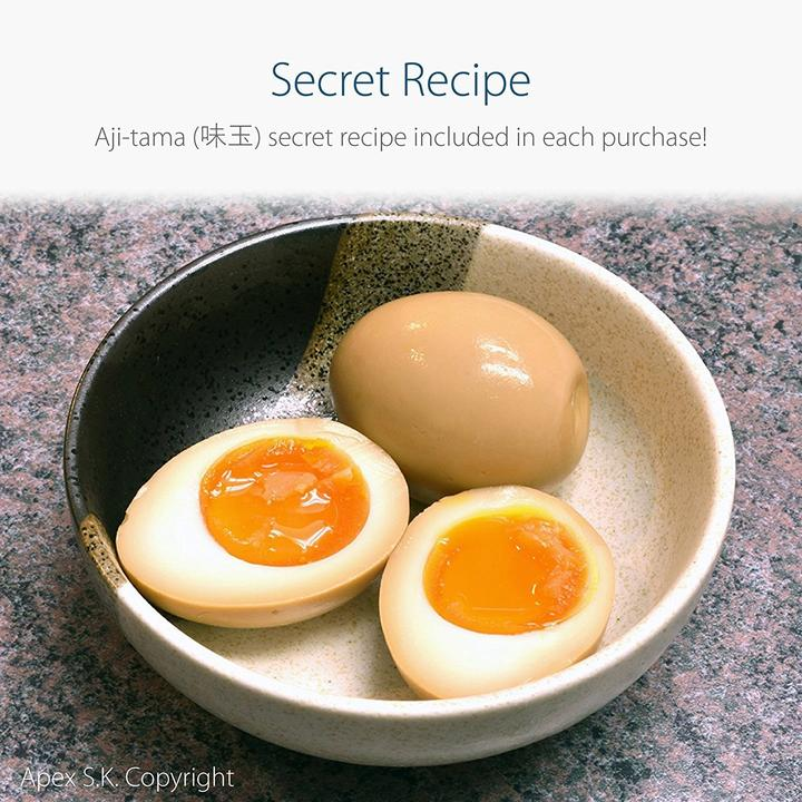 Ceramic Bowl Ramen Egg Recipe