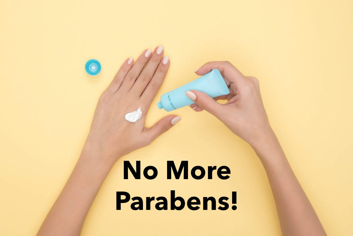 Keep your cosmetics paraben free