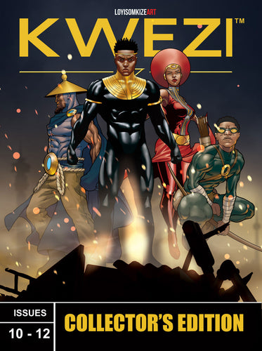 KWEZI COLLECTORS EDITION 4 ISSUES 10-12
