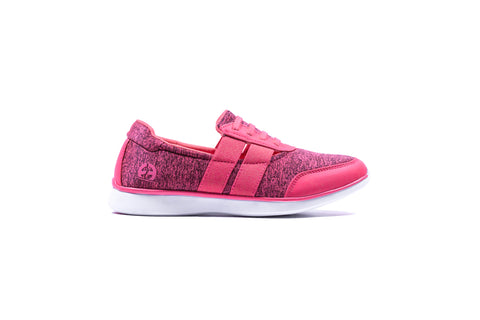 Womens R4 Comfort - Pink Laced Slip On