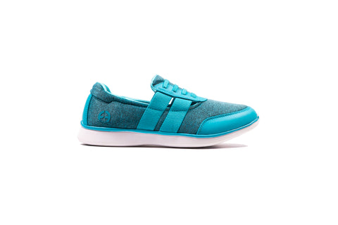 Womens R4 Comfort - Sky Laced Slip On