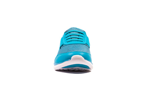 Womens Tiptoe Slip-On Sneaker - Sky Blue