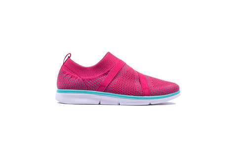Womens R4 Comfort - Pink Slip On