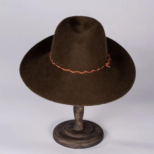 Parker Winter Felt Hat | Susan Carrolan Millinery