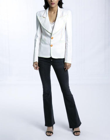 RUNNING STITCH BLAZER