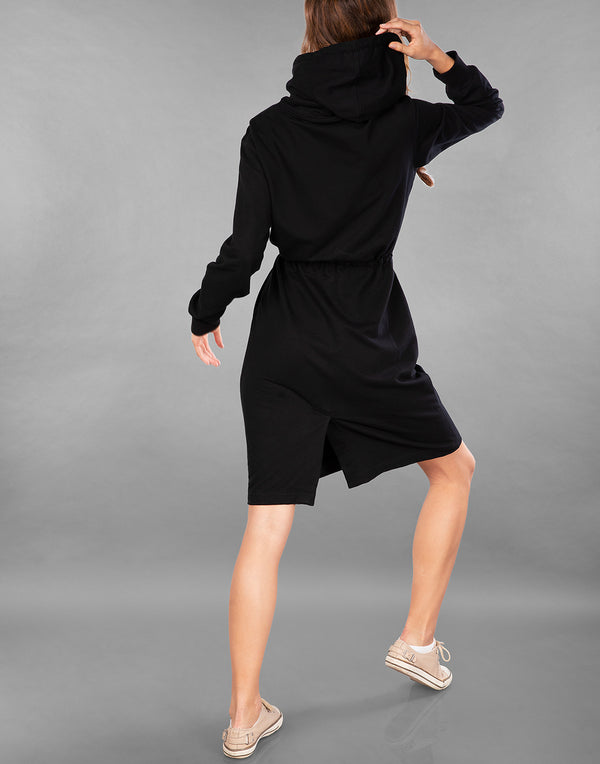 LATER HATER SWEATSHIRT DRESS