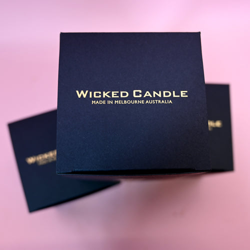 Wicked Candle - Orange Vanilla & Lotus Flower - Adam The Flower Man