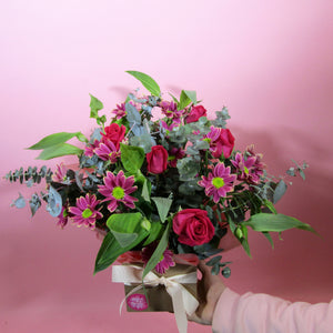Soft Box Arrangement - Adam The Flower Man
