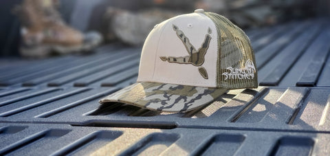 Bottomland turkey track dirtnap snapback