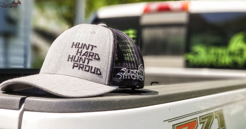 Hunt Hard Hunt Proud Snapback Heather grey/black