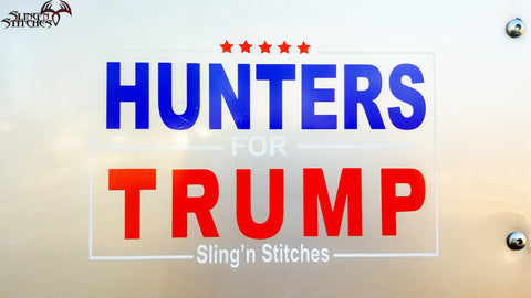 Hunters For Trump Decal