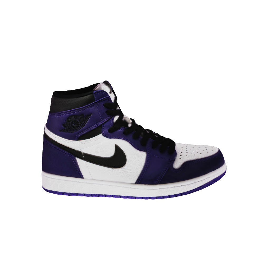 [3D Model] Air Jordan 1 Retro High OG 'Court Purple 2.0'