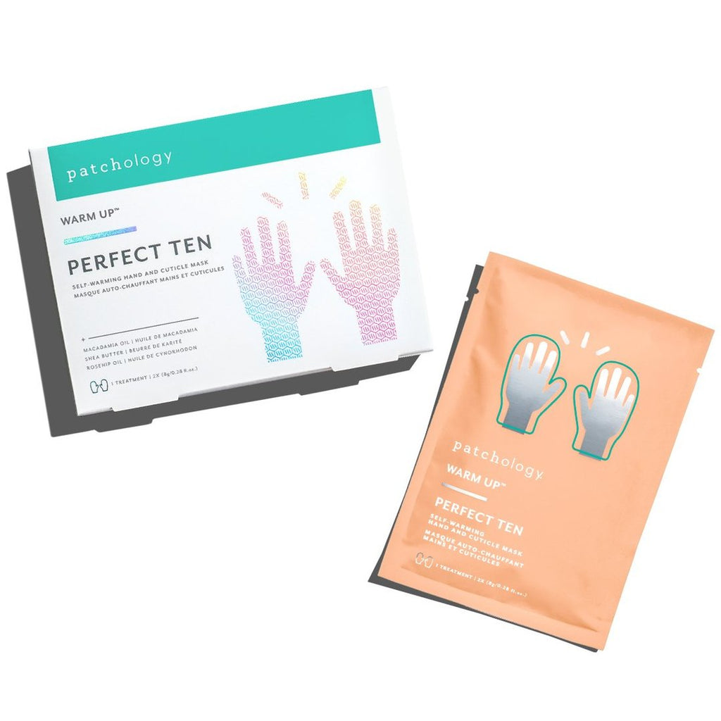 Perfect 10 Self-Warming Hand & Cuticle Mask by Patcholofy