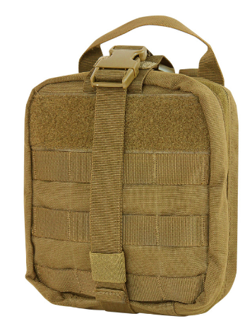 Condor Rip-Away EMT Pouch (Bag Only) Tan Condor  medical-gear-outfitters.myshopify.com Medical Gear Outfitters