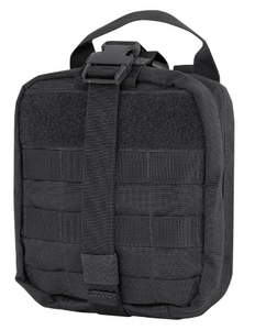 Condor Rip-Away EMT Pouch (Bag Only) Black Condor  medical-gear-outfitters.myshopify.com Medical Gear Outfitters