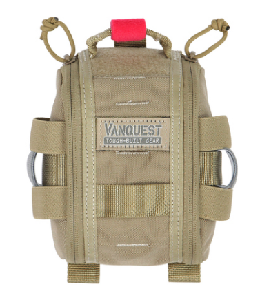 FATPack 4X6 (Gen-2): Bag Only Tan Vanquest  medical-gear-outfitters.myshopify.com Medical Gear Outfitters
