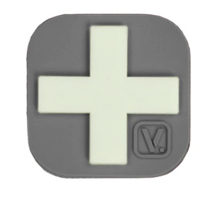 "Medical Cross - ""Super-Lumen"" Glow-In-The-Dark Patch Wolf Gray Vanquest  medical-gear-outfitters.myshopify.com Medical Gear Outfitters"