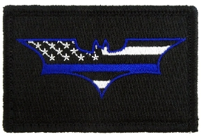 Batman Thin Blue Line Flag