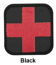 Load image into Gallery viewer, Medical Patch - Cloth Black Condor  medical-gear-outfitters.myshopify.com Medical Gear Outfitters