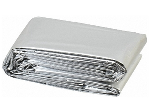 "Emergency Mylar Blanket - 84"" x 52"""