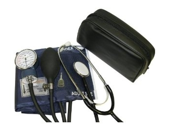 Adult Blood Pressure Cuff and Stethoscope