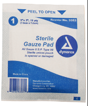 Sterile 4x4s (Qty 10)