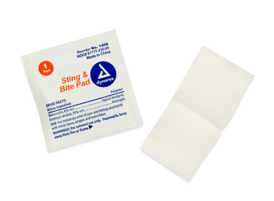 Sting and Bite Pads (Qty 10)