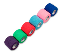 Load image into Gallery viewer, Sensi-Wrap Self-Adherent Bandage Rolls Rainbow (6/color)