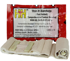 Thin H Bandage Compression Dressing