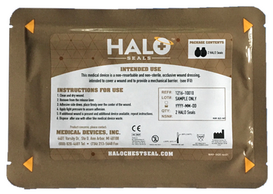 halo IFAK chest seal