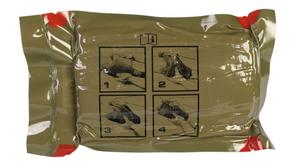 FLAT EMERGENCY TRAUMA DRESSING (ETD) 6""