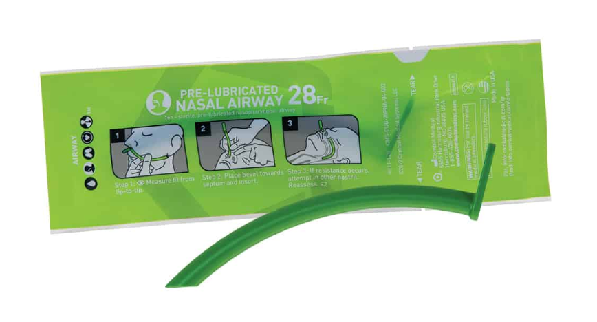 Pre-Lubricated Nasal Airway #28 NPA