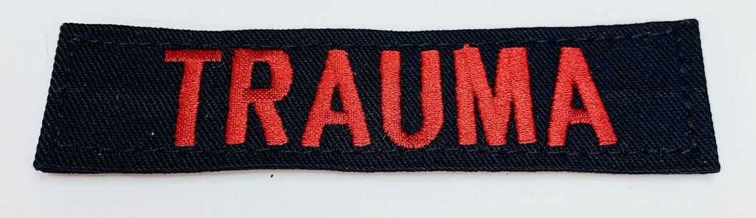 Trauma Patch Black Medical Gear Outfitters  medical-gear-outfitters.myshopify.com Medical Gear Outfitters