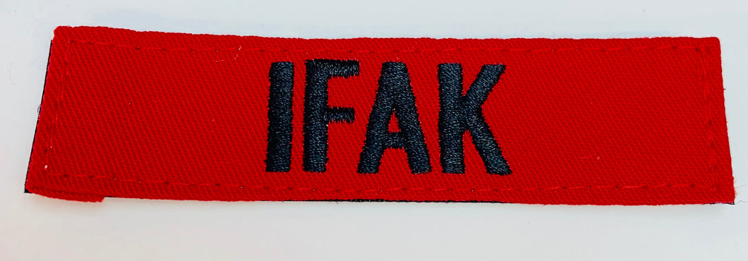 IFAK Patch  Medical Gear Outfitters  medical-gear-outfitters.myshopify.com Medical Gear Outfitters