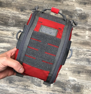 FATPack 5x8 Trauma Kit (CAT / SOFT-T) (Celox Rapid / Combat Gauze) Red / Combat Gauze / Black SOFT-T Medical Gear Outfitters  medical-gear-outfitters.myshopify.com Medical Gear Outfitters